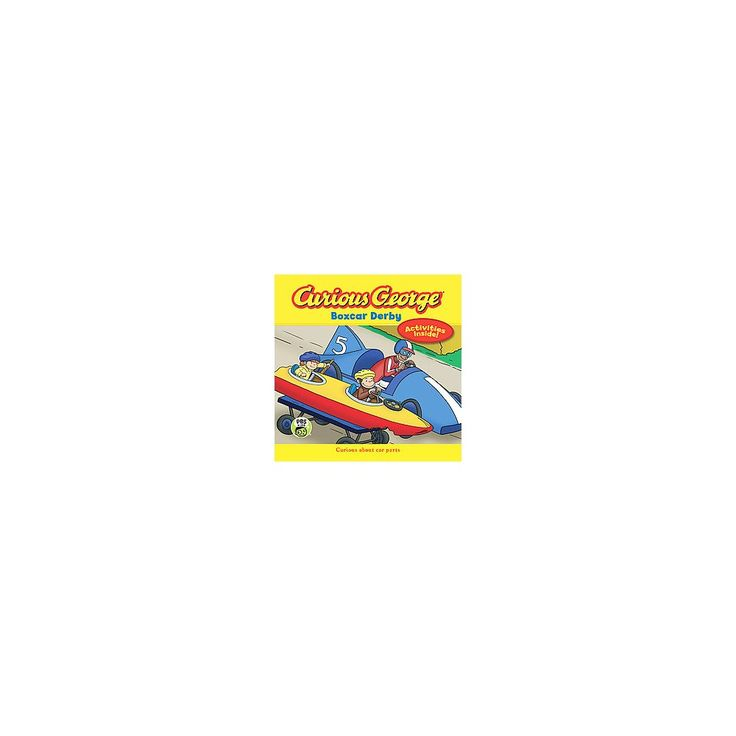 Curious George Boxcar Derby ( Curious George) (Hardcover)