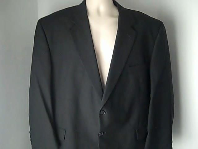 Stafford Mens Gray 50 R Sports Coat Jacket 100% Wool #Stafford #TwoButton