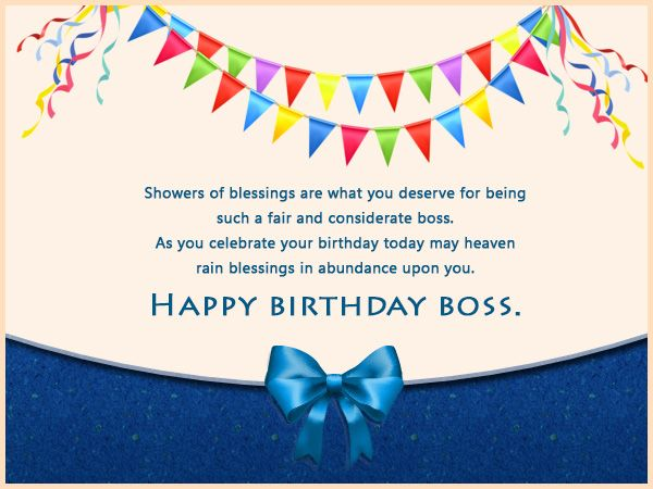 Best 25 Boss birthday wishes ideas – Happy Birthday Cards for Boss