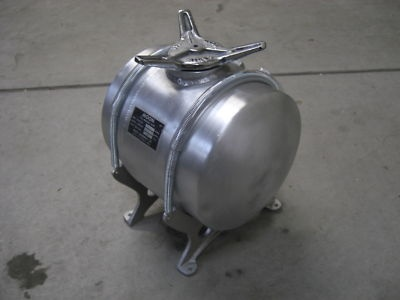 Orginal 1950 60 Vintage Moon Tank Fuel Fits Rat Rod Scta