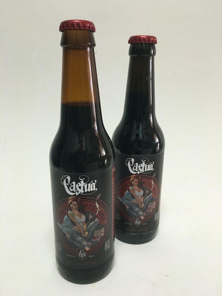 Cerveza Castua, La Chica del Café. Cervezas de estilo de Imperial Stout.