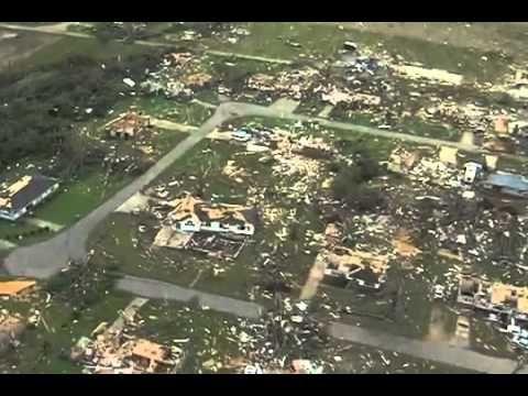 April 27 2011 Tuscaloosa Alabama Tornado Damage Aerial View