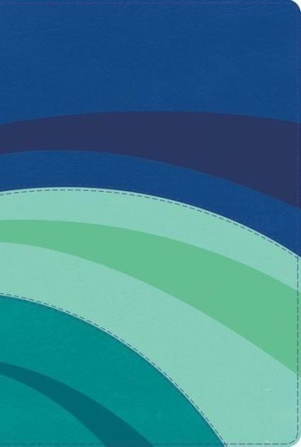 Biblia de Estudio Arco Iris RVR 1960, Piel Azul/Celeste/Turq. Ind. (RVR 1960 Rainbow Study Bible, Royal/Sky/Teal Leather, Ind.)