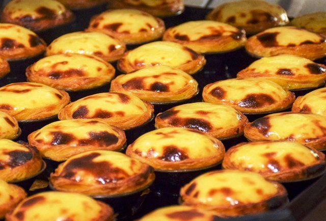 Pasteis de Nata - tartly little pastries from #Lisbon #Portugal