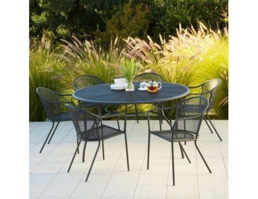 Coburg 6 Seat Dining Set 0000004133766