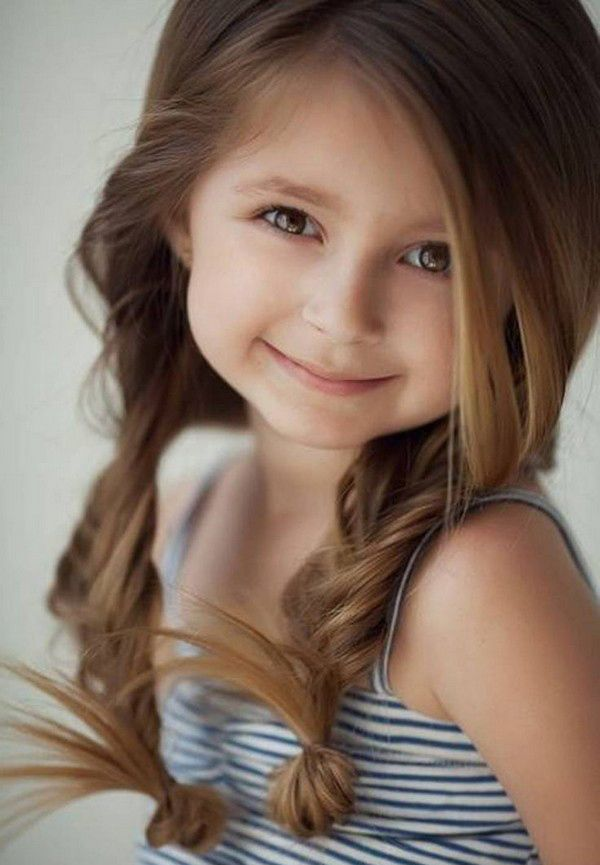 Fancy Hairstyles For Little Girls