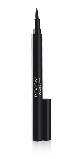 A pretty good, cheap drugstore liquid eye pen that helps draw on wingtips vs. having to use an angled brush and gel eyeliner.  Wears for a long time, too.
