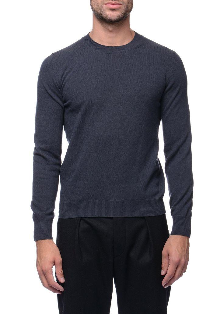 Federico Curradi - FW16- Menswear // Grey sweater in wool and alpaca