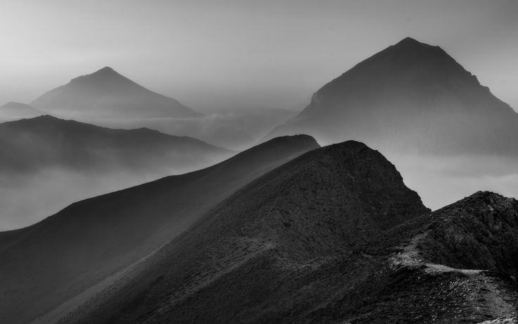 cime nella foschia by Luigi Alesi on 500px