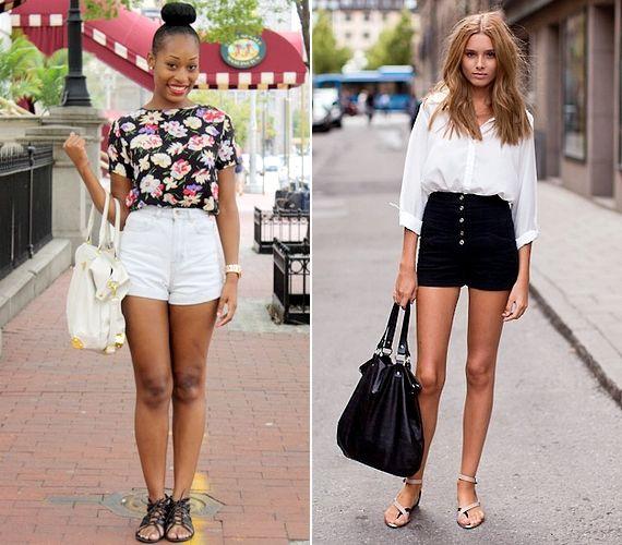 A fekete-fehér kontrasztos párosa idén nagyon divatos, ráadásul eleganciát kölcsönöz viselőjének.