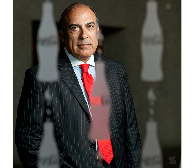 Muhtar Kent photographed by Zack Arias