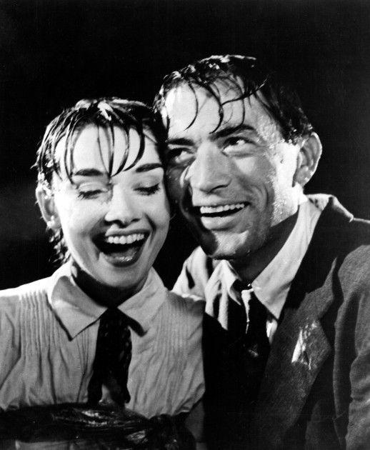 Gregory Peck, Audrey Hepburn - Roman Holiday (William Wyler, 1953)