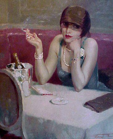 Henri Thomas (1878-1972), La Belle Femme, 1920.