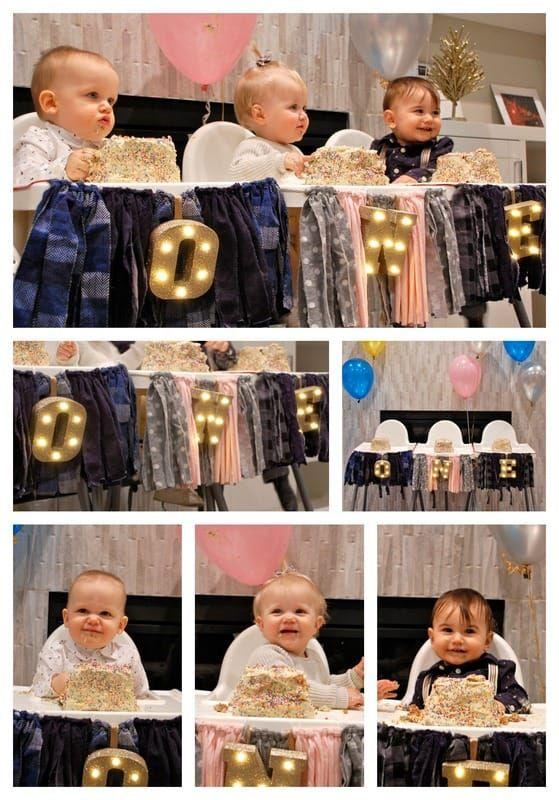 Babies First Birthday #diy #one #firstbirthday #décor #cakesmash