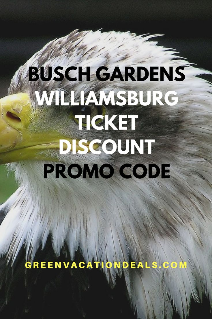 Busch Gardens Promo Code