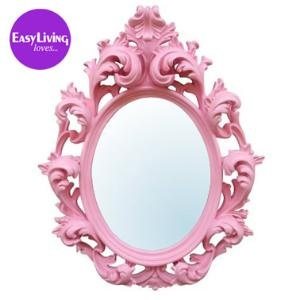 Bubblegum Pink Mirror Mirrors Mirrors  Screens French Bedroom CompanyFrench Bedrooms, Decor Wall, Pink Mirrors, Girls Room, Wall Mirrors, Baby Room, Pink Bedrooms, Princesses Room, Mirrors Mirrors