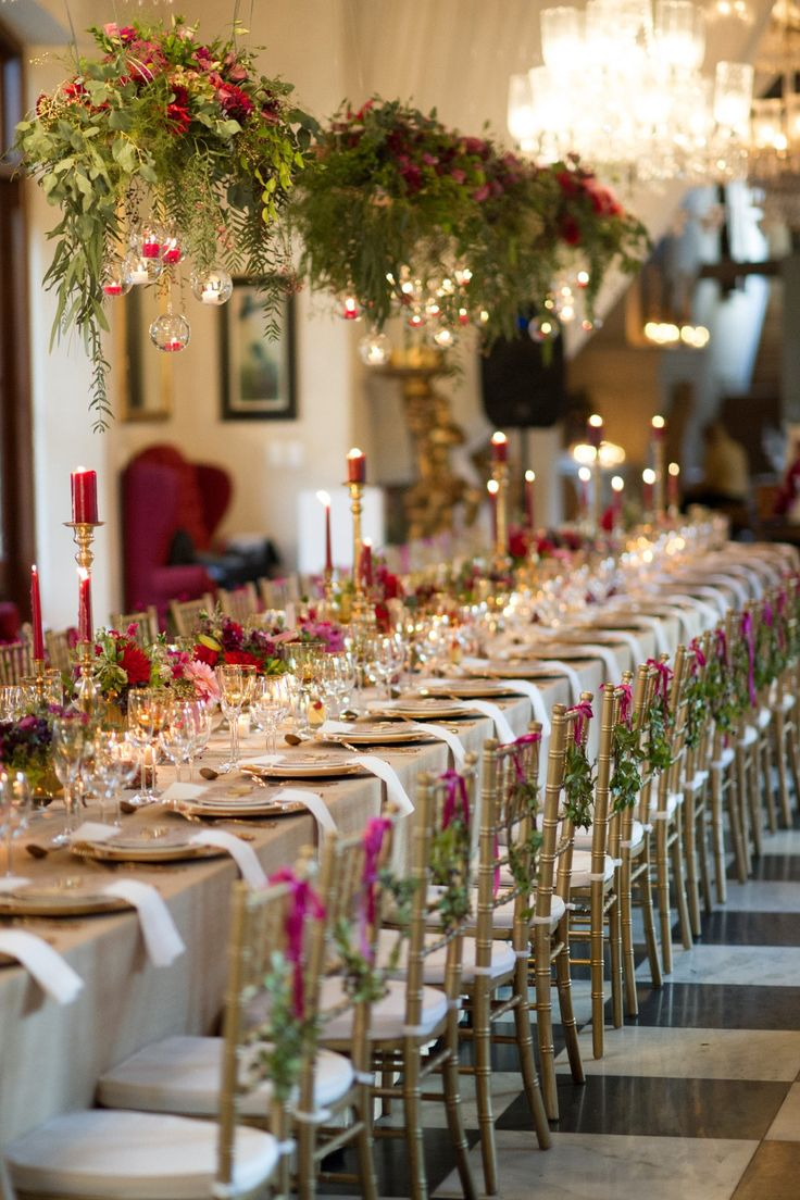 see the suspended candle balls and greenery - we could add this to the chandeliers in the venue - la residence wedding - flowers by Green Goddess flower studio - images by Ryan Graham Photography