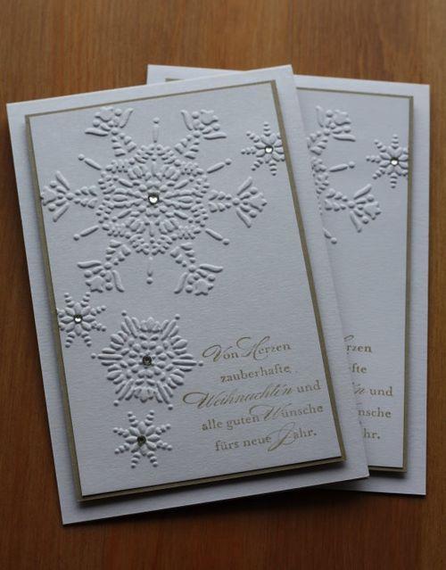 29. Oktober 12  Weihnachtskarten 2012 #5 2012 Christmas Cards # 5 Northern Flurry EF