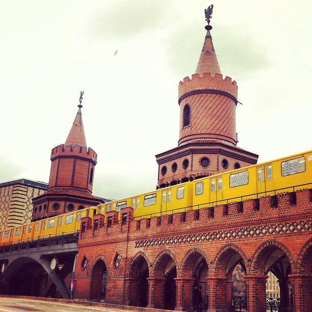#Oberbaumbrücke, #Berlin
