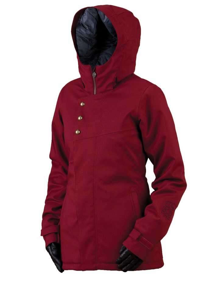 Love this color! Bonfire Snowboarding womens Heavenly snowboard jacket