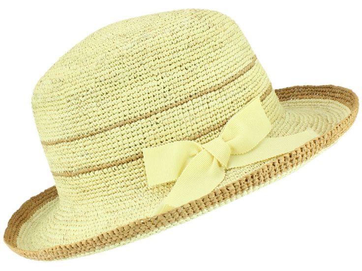 Material: 100% Stroh (Panama) Sonstiges: Original Panamahut aus Ecuador Krempenbreite: ca. 6 cm Farbcode: 9058