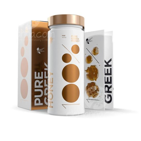 The greek flower honey is a highly nutritious with tonic and beneficial properties