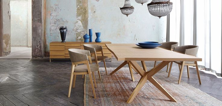 Jane dining table tables roche bobois eleven old for Salle a manger roche bobois