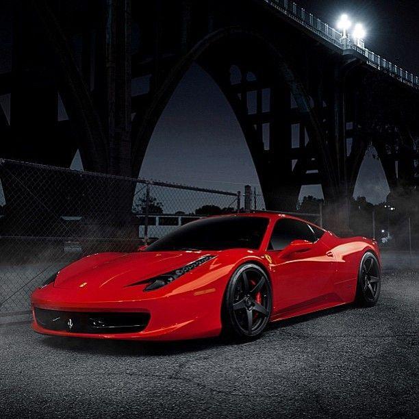 Red Ferrari: Red Ferrari 458 Italia