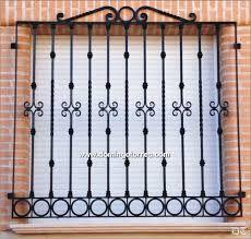 Resultado de imagen para rejas de ventanas de forja