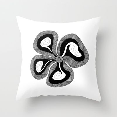 Bloom Throw Pillow by lf.o