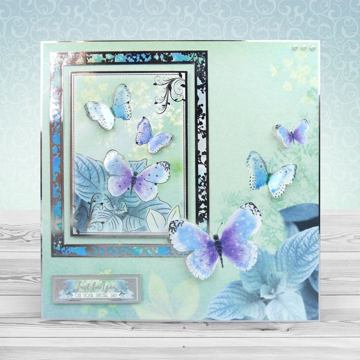Floral Shimmer - Hunkydory | Hunkydory Crafts