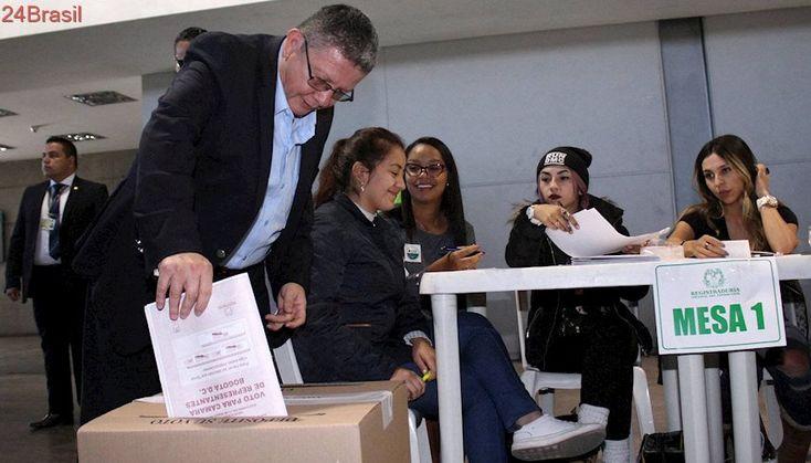 Colômbia: primeira eleição com as FARC como partido político