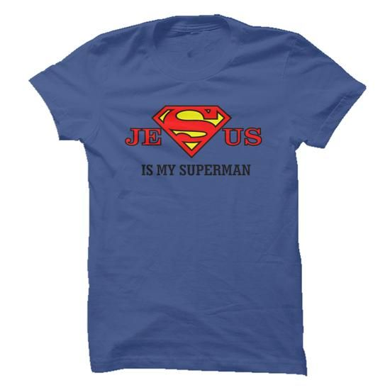 JESUS IS  MY SUPERMAN - #tshirt painting #hoodies womens. MORE ITEMS => https://www.sunfrog.com/Faith/JESUS-IS-MY-SUPERMAN.html?68278