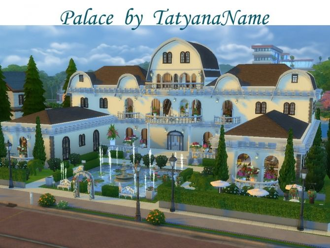 Palace At Tatyana Name Via Sims 4 Updates