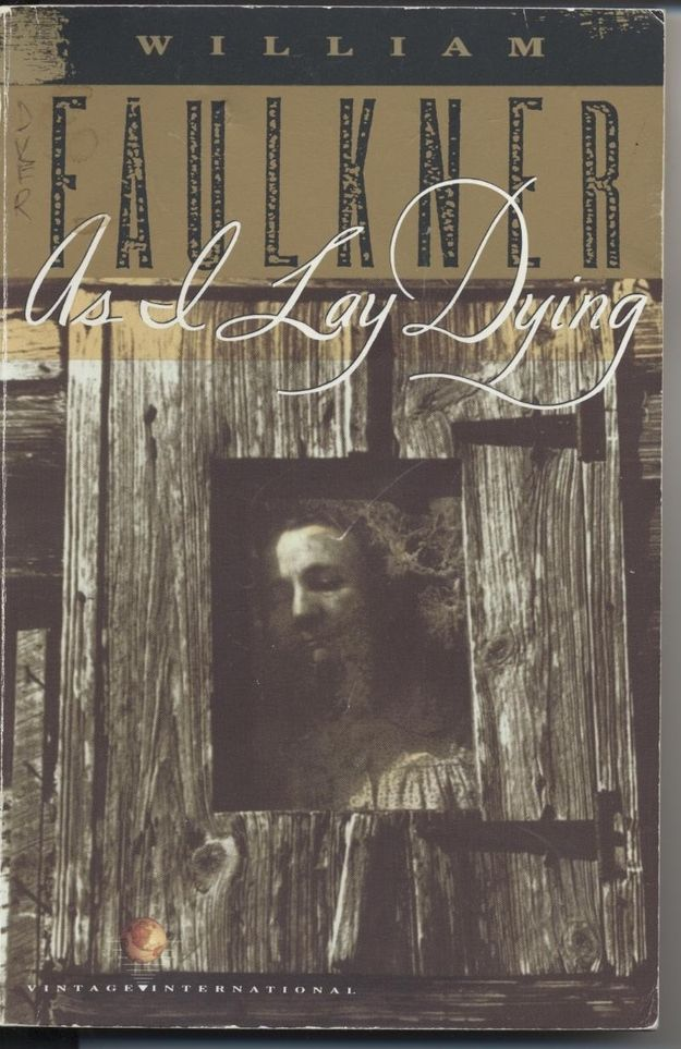 As I Lay Dying by William Faulkner. Everyone in this novel is pretty messed up, and that's refreshing. Also, James Franco is releasing a film adaption of the book, so you have to read it before that comes out, too.