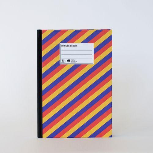Striped Konbini Notebook