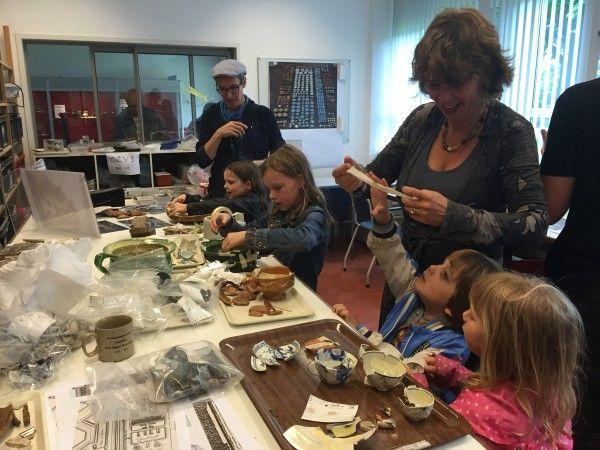Ontdek de geschiedenis van Amsterdam tijdens de Nationale Archeologiedagen Archeologische Werkplaats Marineterrein