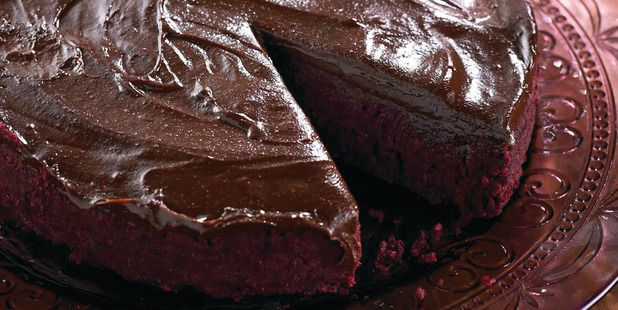 Beetroot Chocolate Mud Cake from the book 'Real Food Chef' by Libby Weaver.