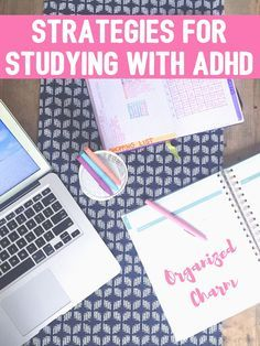 "I recently received a request for a post on How to Study with ADD/ADHD.  ""Of course!"", I thought, ""I can't believe I haven't written about this before now!"".  The most recent numbers from the CDC say"