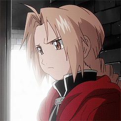 """alchemicstars: """"Edward Elric with a puffy cheek from fighting. """""""