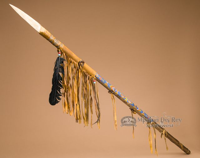 1000+ images about Native American spears on Pinterest ...