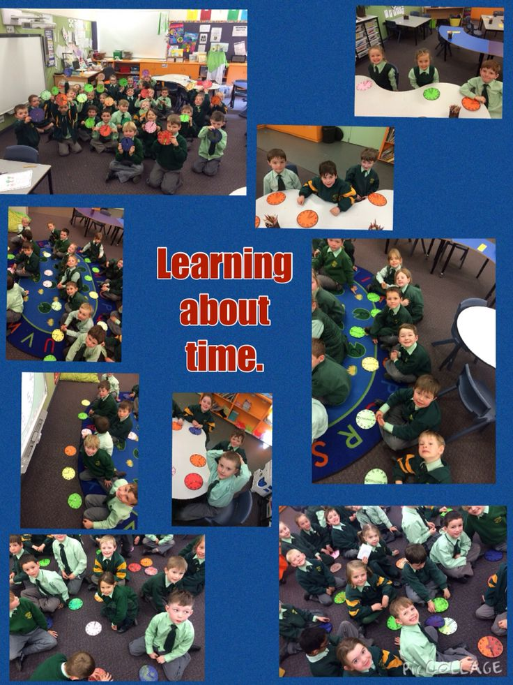 We have been working hard learning about o'clock and half past in maths!