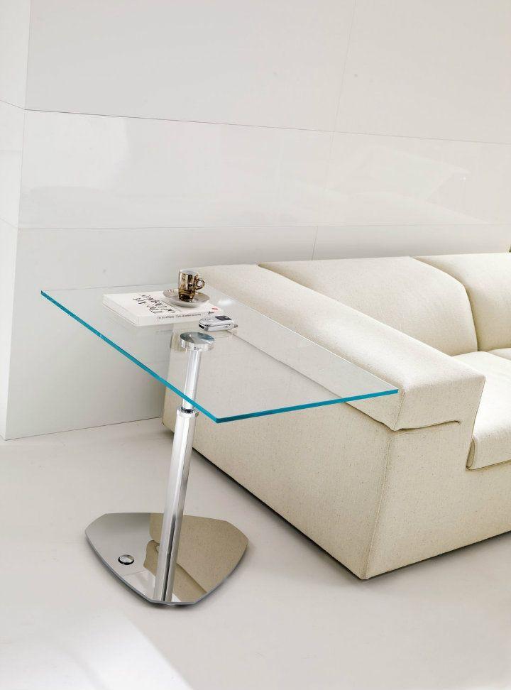 Glass Side Table Moderndesign Modern Whitedesign White Livingroomdesign