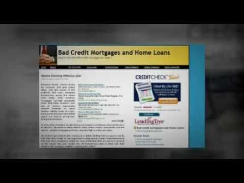 http://www.alliancemtg.com   Can you get that bad credit mortgage ? Yes. http://www.alliancemtg.com/loanprog/refi/refi1.htm When you have a foreclosure or  bankruptcy and the credit report does not qualifies for bank loans there is another alternative. These loans are based on your equity.    You can also read more about  Payday loans, Faxless payday loans and how to keep you credit profile clean...