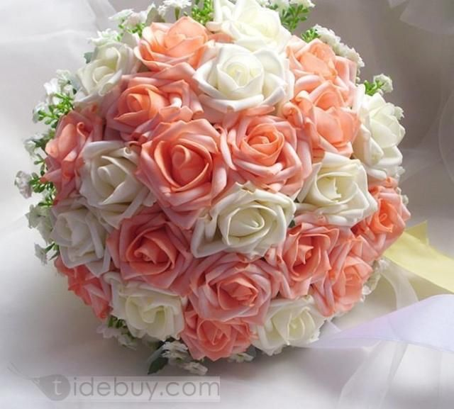 http://www.tidebuy.com/product/Pretty-Sphere-Shaped-Rose-With-White-Flower-Wedding-Bridal-Bouquet-10859503.html  $21.49
