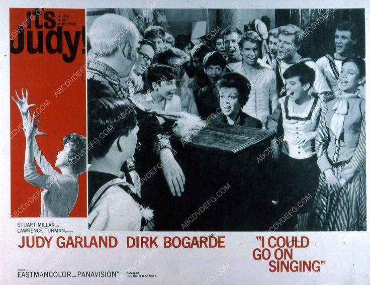 Judy Garland Dirk Bogarde film I Could GoOn Singing 35m-4424