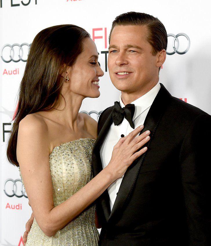 Pin for Later: 15 Célébrités Qui Sont Passées de Maîtresses à Partenaires Angelina Jolie