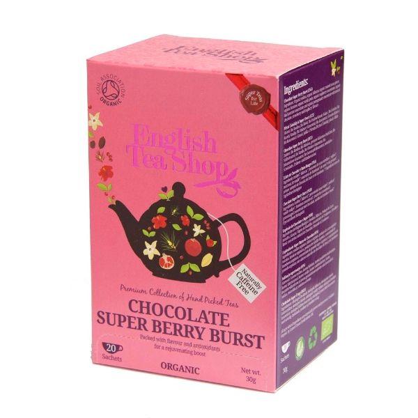 Chocolate super-berry-tee