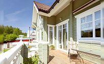 Проект деревянного дома из клееного бруса Малеевка, площадь 239 м2, 2 этажа, 4 спальни, фото 8