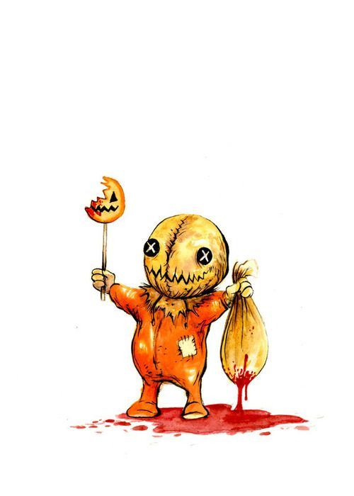 Alex Pardee -  Happy Halloween!  one and all, may Sam bless you this year